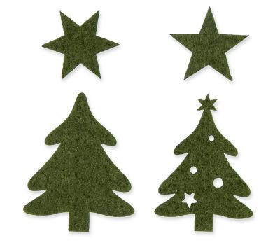 streudeko-set-weihnachten-dunkelgruen-filz-32-stk-sortiert
