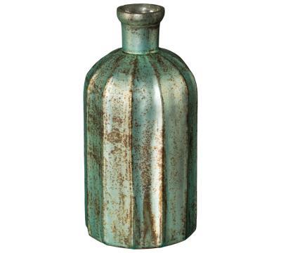 flaschenvase-glas-alo-gruen-10x10x23cm