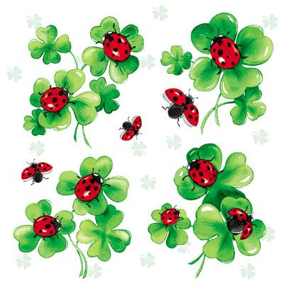serviette-lots-of-luck-33x33cm-20er-pack