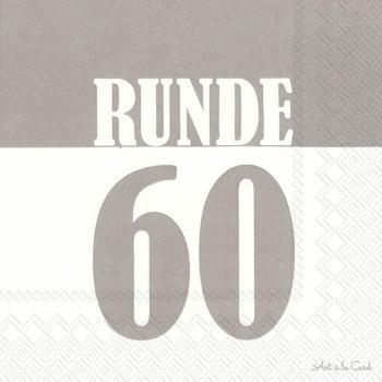 geburtstag-serviette-runde-60-grau-33x33cm-20er-pack