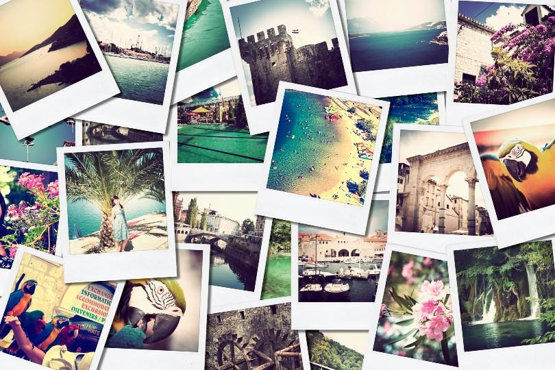 Reiseziel-Collage