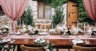 Tischdeko im Landhausstil