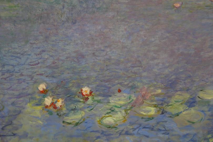 Gemälde mit Seerosen von Claude Monet