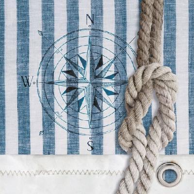 Serviette Compass an Rope 33x33cm 20er Pack