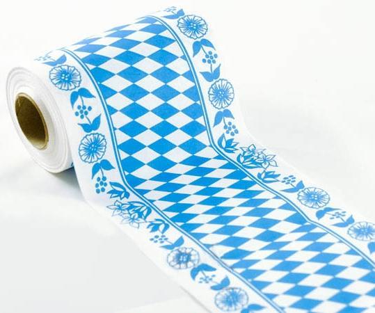 Tischband Bayerische Raute 15cm x 20m Rolle - Tischdeko online kaufen