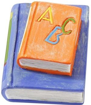 Streudeko Schulbücher 4 cm