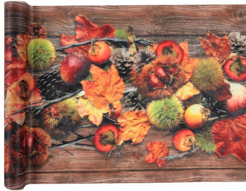 Tischläufer Herbst 30cm x 5 Meter