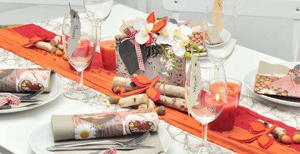 Plissée-Taft-Band 10cmx10m Rot Bunte Tischdeko, die den Tisch nicht überlädt
