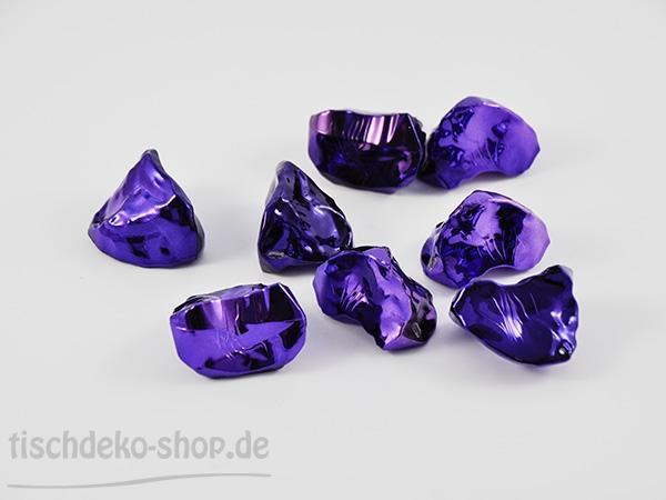 Dekosteine Precious Rocks Violett 5cm 8 Stück