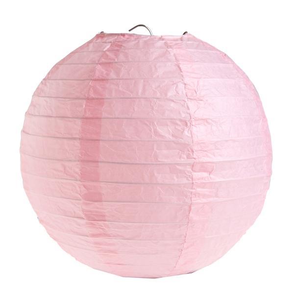 Laterne rosa Party Saaldeko D 20cm 2 Stück