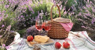 Tischdeko im Provence-Stil