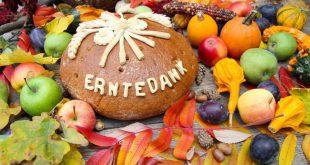 Erntedank Gemüse und Obst