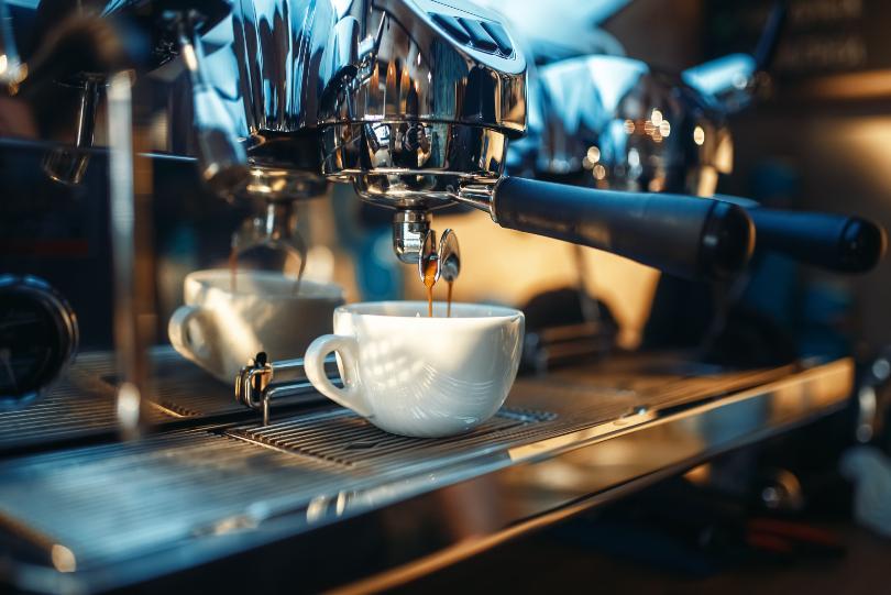 Professionelle Espressomaschine