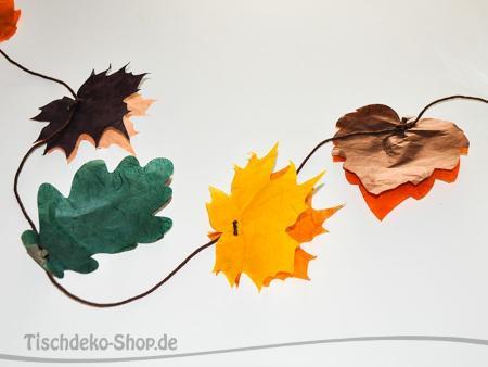 Girlande Herbstblätter 4m