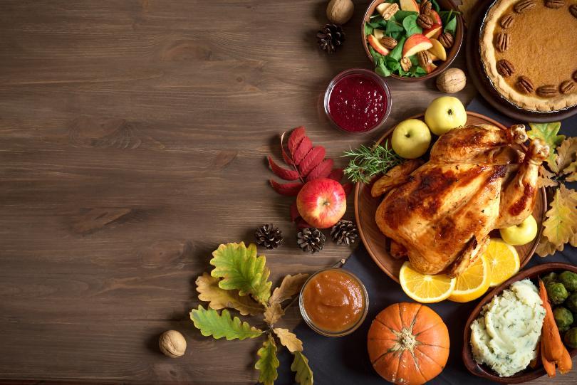 Amerikanisches Halloween-Essen - das Pendant zum Erntedank-Fest