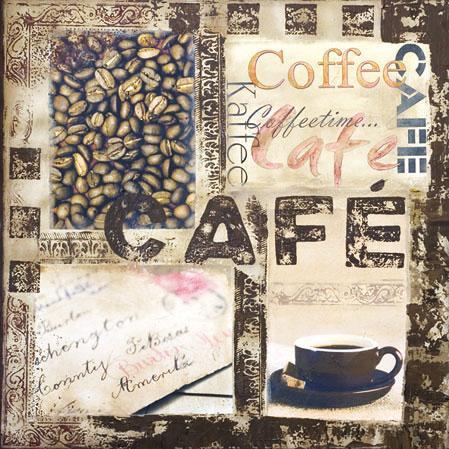 Serviette Cafe 25x25 cm