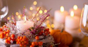 festlicher Herbsttisch