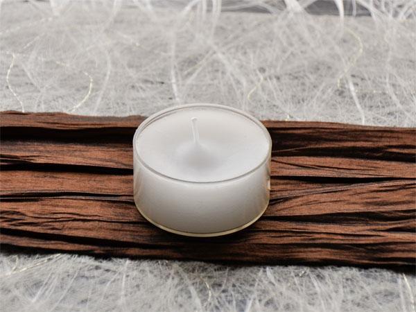 Maxi-Teelichter 6-7 h 16er Pack - Kerzen arrangieren