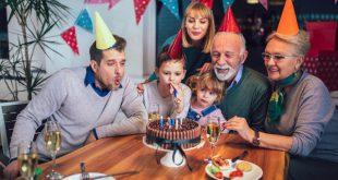 Familiengeburtstag - Geburtstag mit Familie feiern
