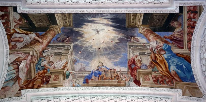 Sendung des Geistes Gottes zu den Jüngern Jesu und seine bleibende Gegenwart in der Kirche