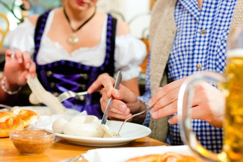 Bayerisches Weißwurstfrühstück