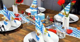 Bayerische Festzeltdeko für daheim