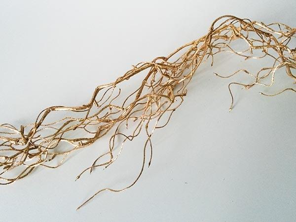 Weidenranke gold 150cm - Golddeko