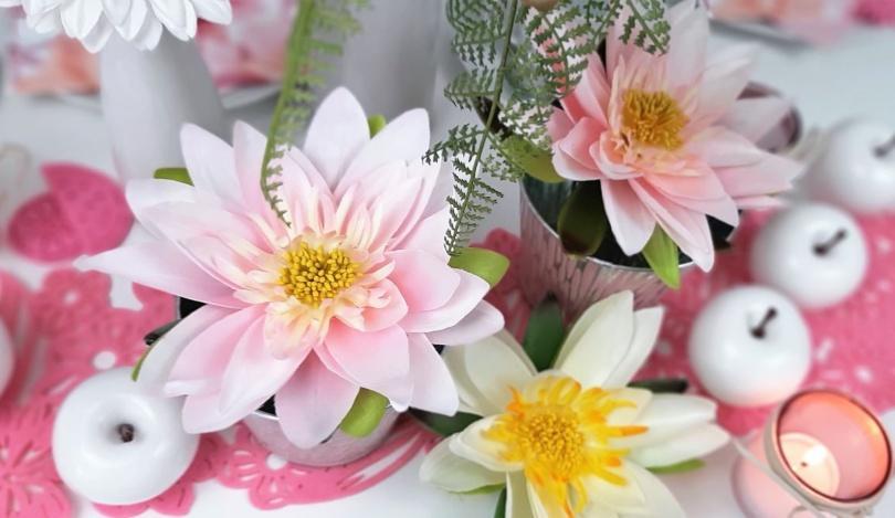 Sonstige Seidenblumen - Schöne Sommerblumendeko