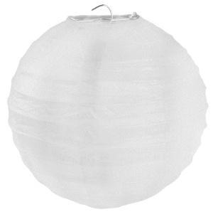 Dekokugel Lampion Weiß Papier 30cm 2er Set - Dekolichter