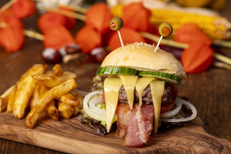 Halloween Burger - Halloweendeko