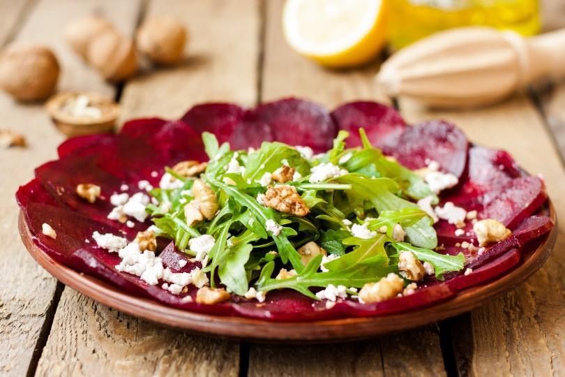 Rote Beete Carpaccio Salat