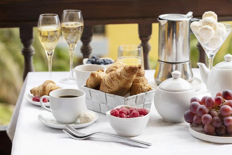 Ideen für das Sektfrühstück